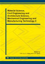 Material Science, Civil Engineering and Architecture Science, Mechanical Engineering and Manufacturing Technology II