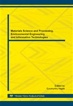 Materials Science and Processing, Environmental Engineering and Information Technologies