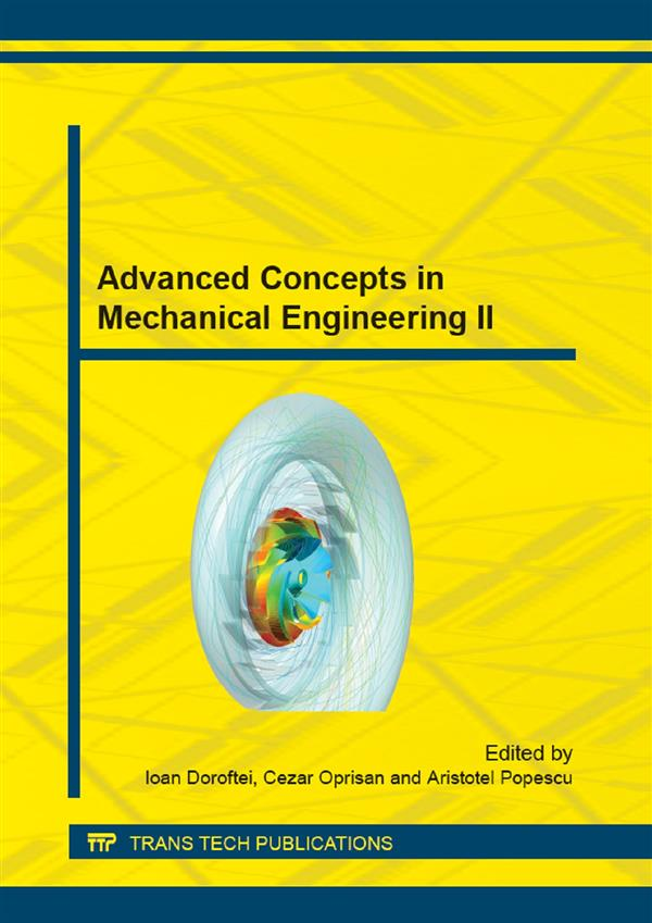 Advanced Concepts in Mechanical Engineering II