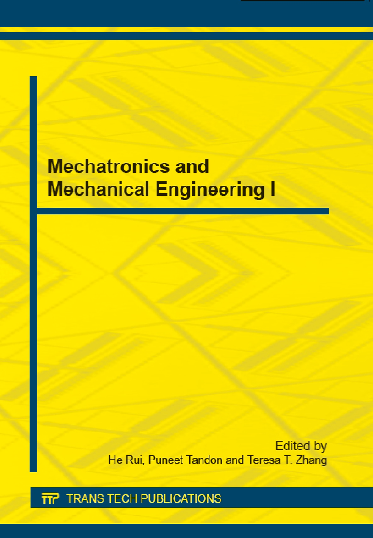 Mechatronics and Mechanical Engineering I