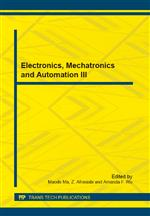 Electronics, Mechatronics and Automation III