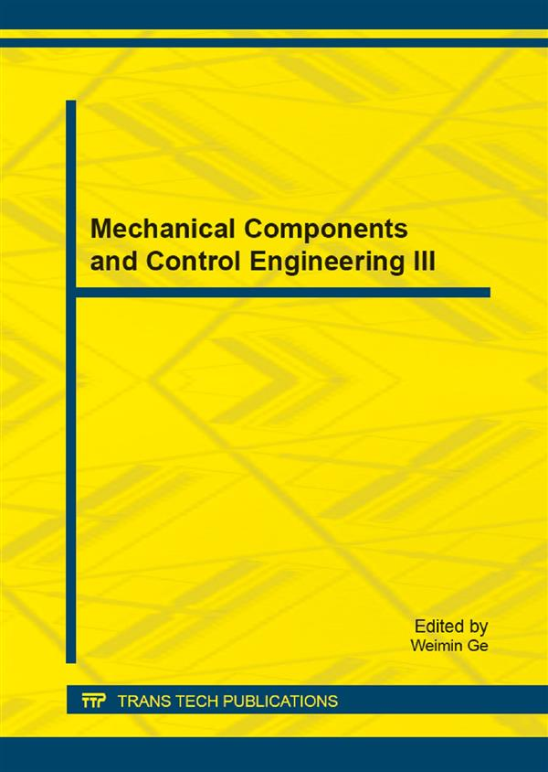 Mechanical Components and Control Engineering III