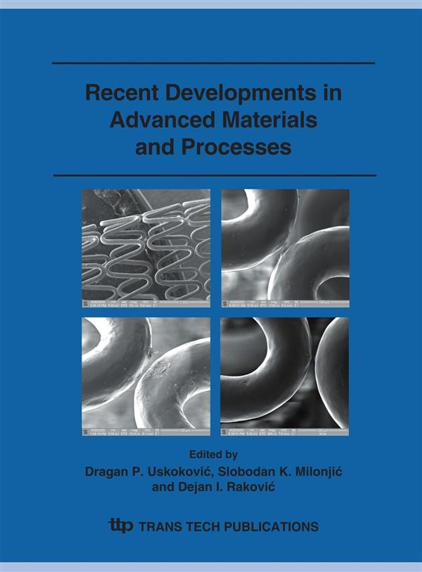 Recent Developments in Advanced Materials and Processes