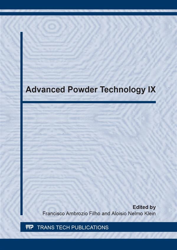 Advanced Powder Technology IX
