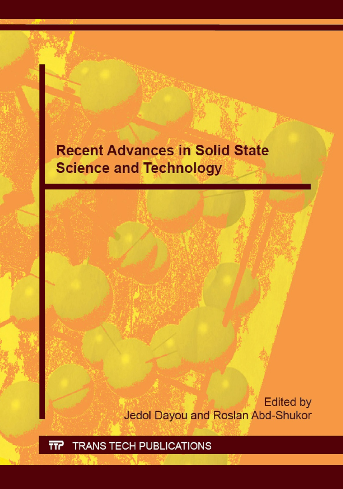 Recent Advances in Solid State Science and Technology