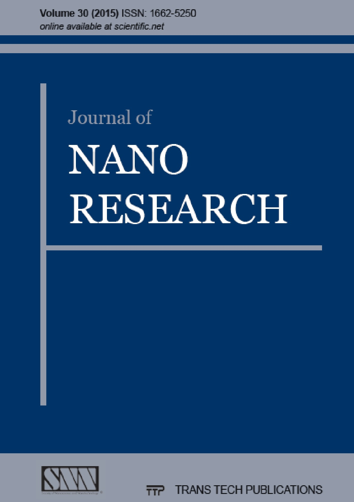 Journal of Nano Research Vol. 30