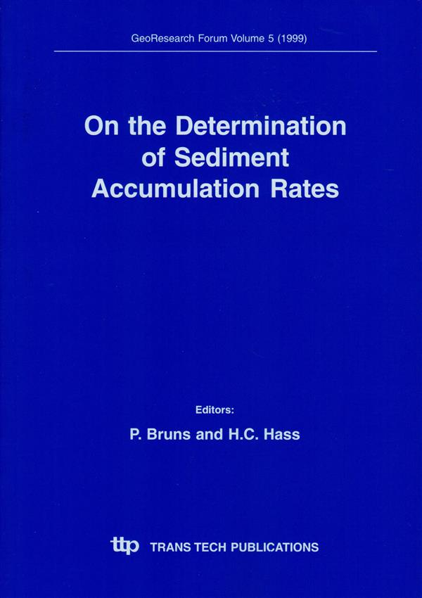 On the Determination of Sediment Accumulation Rates