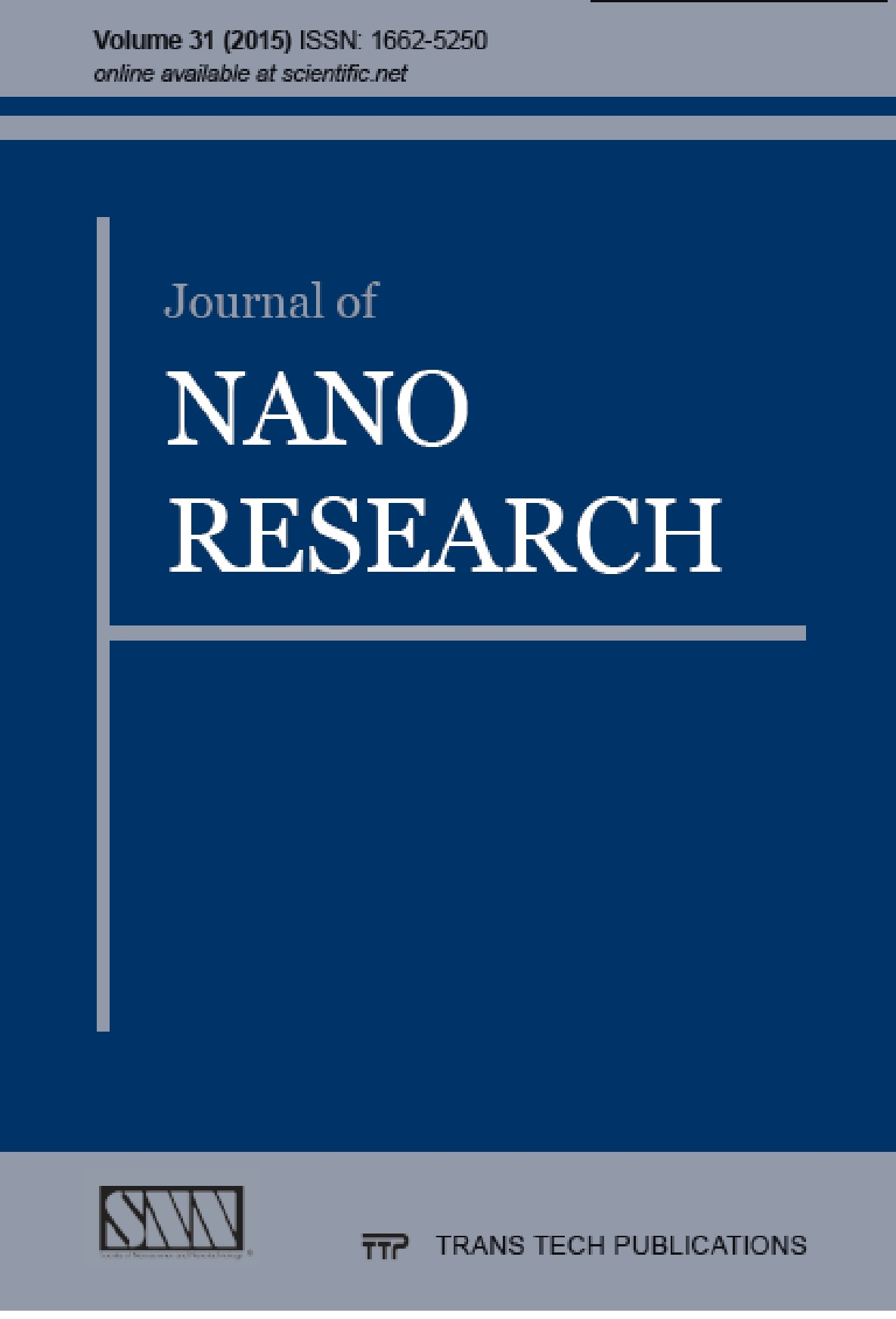 Journal of Nano Research Vol. 31