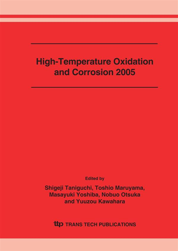 High-Temperature Oxidation and Corrosion 2005