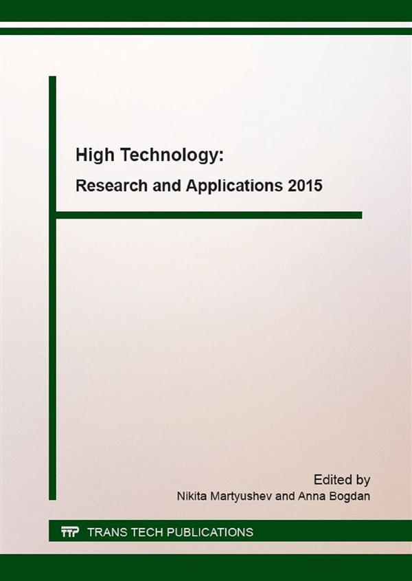 High Technology: Research and Applications 2015