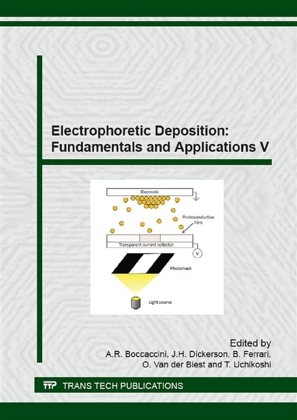 Electrophoretic Deposition: Fundamentals and Applications V