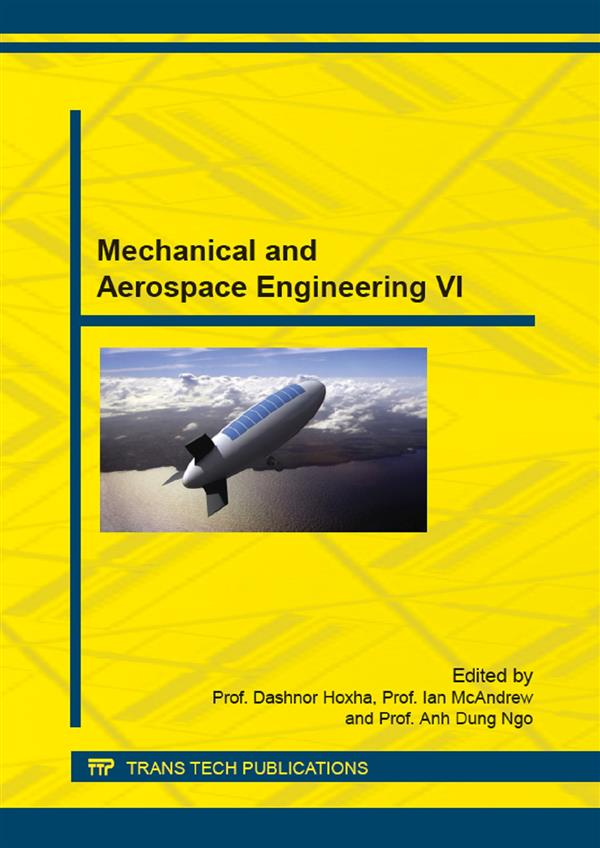 Mechanical and Aerospace Engineering VI