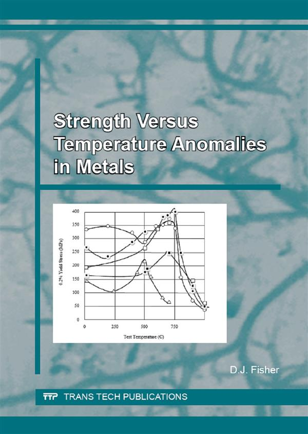 Strength Versus Temperature Anomalies in Metals