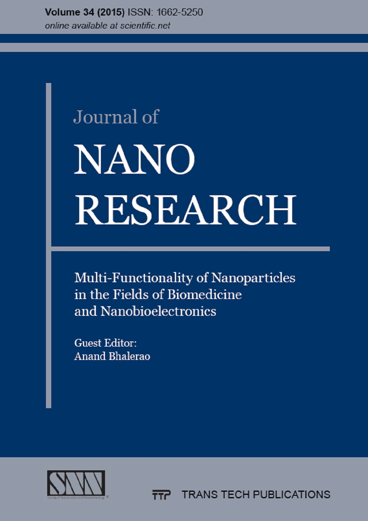 Journal of Nano Research Vol. 34