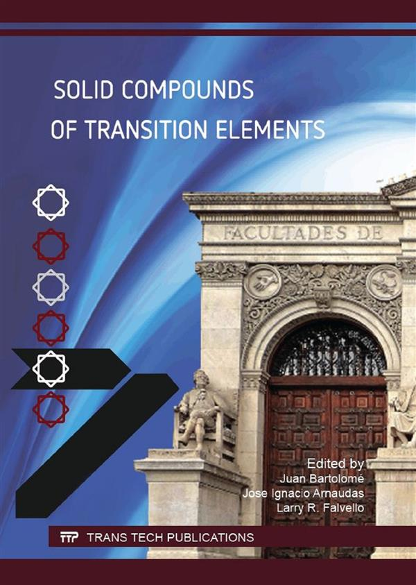 Solid Compounds of Transition Elements