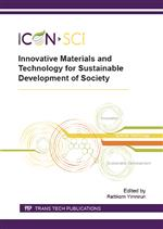 Innovative Materials and Technology for Sustainable Development of Society