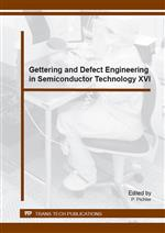 Gettering and Defect Engineering in Semiconductor Technology XVI