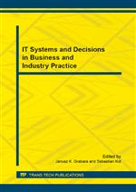 IT Systems and Decisions in Business and Industry Practice