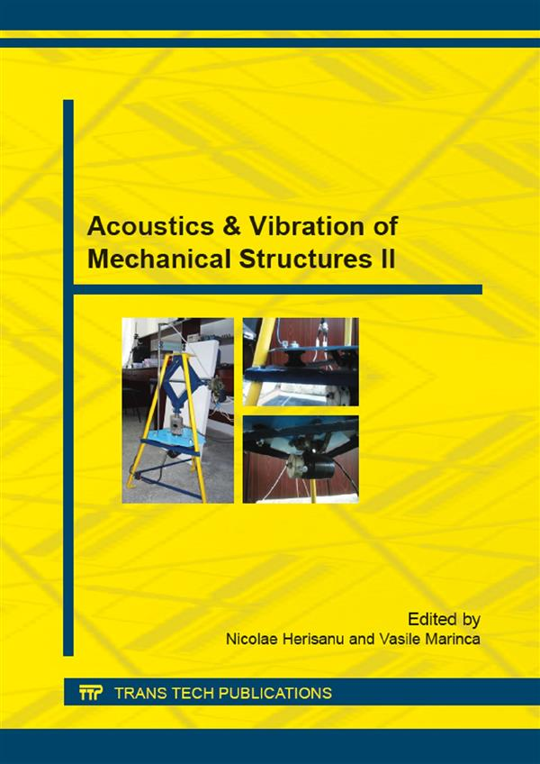 Acoustics & Vibration of Mechanical Structures II