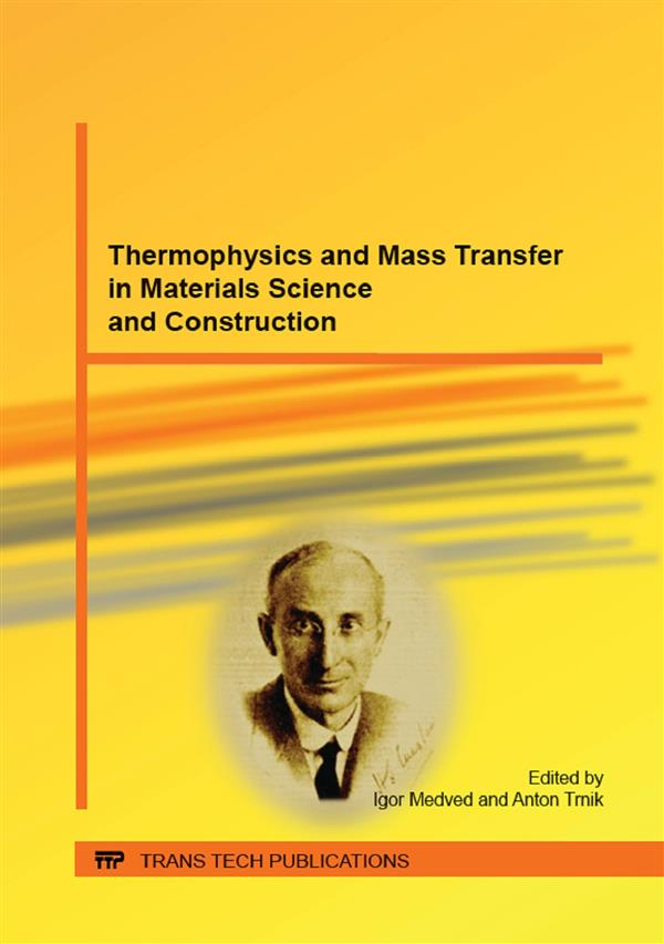 Thermophysics and Mass Transfer in Materials Science and Construction