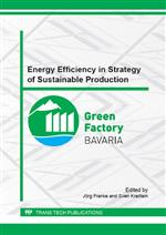 Energy Efficiency in Strategy of Sustainable Production