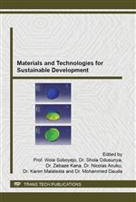 Materials and Technologies for Sustainable Development