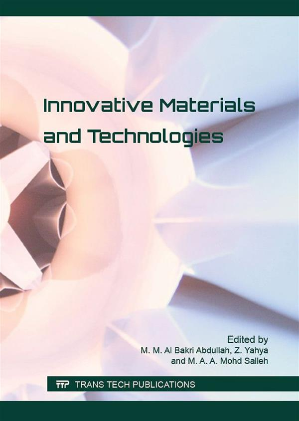 Innovative Materials and Technologies