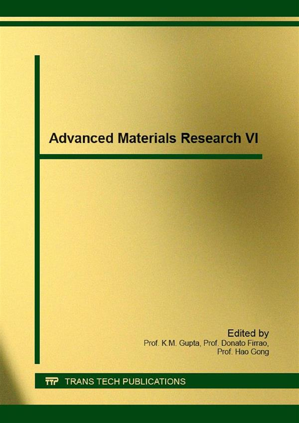 Advanced Materials Research VI
