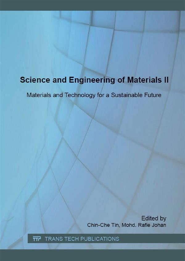 Science and Engineering of Materials II