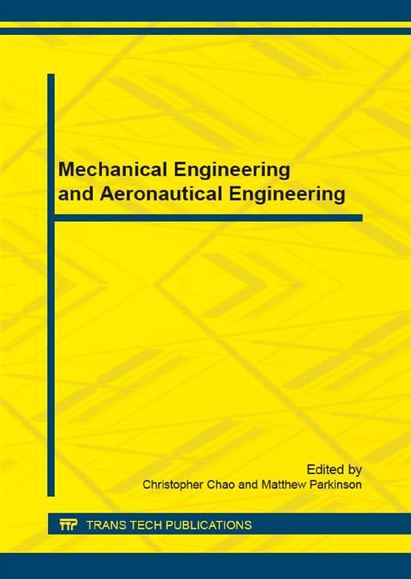 Mechanical Engineering and Aeronautical Engineering
