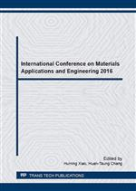 International Conference on Materials Applications and Engineering 2016