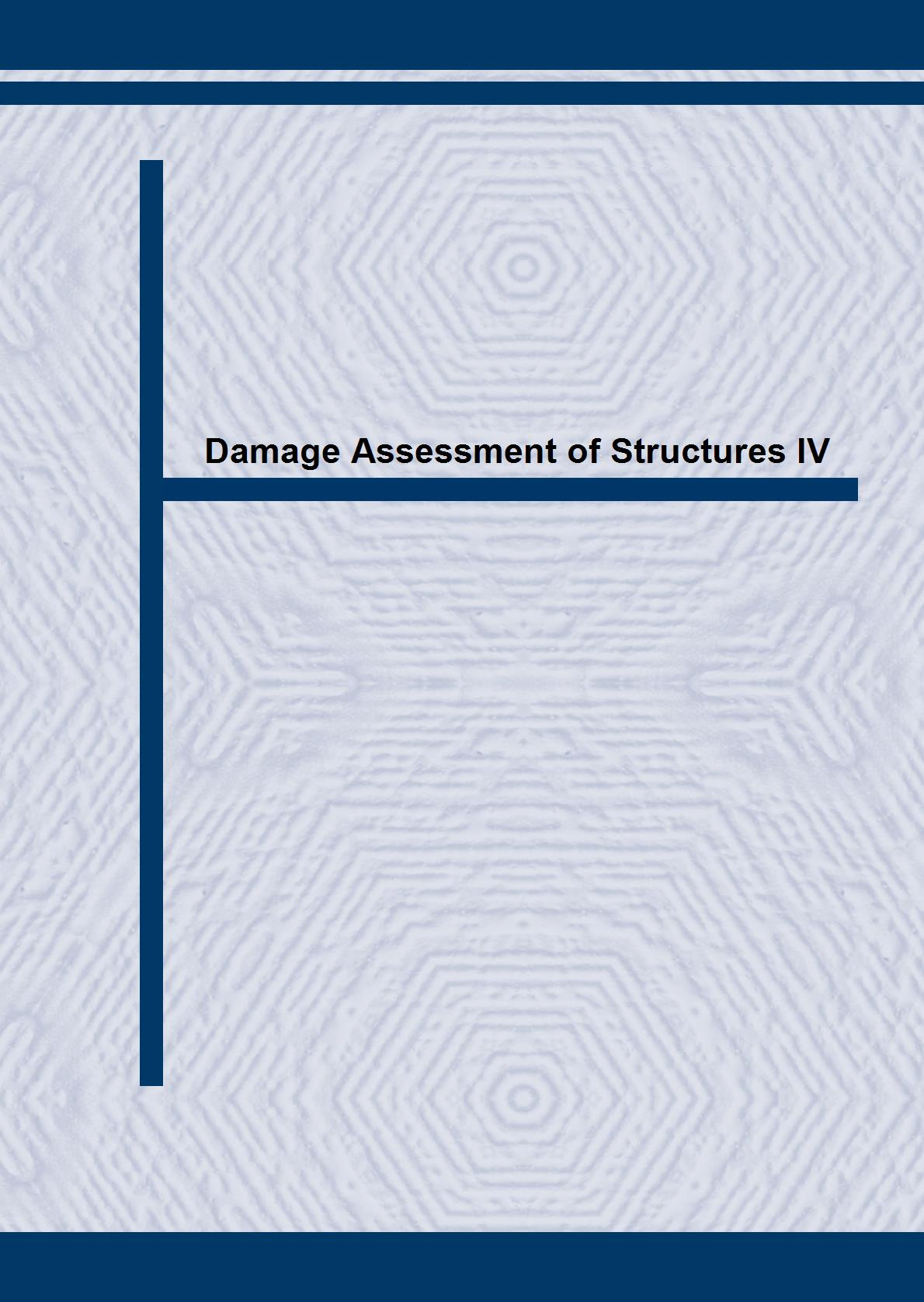 Damage Assessment of Structures IV