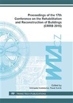 Proceedings of the 17th Conference on the Rehabilitation and Reconstruction of Buildings (CRRB 2015)