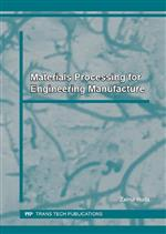 Materials Processing for Engineering Manufacture
