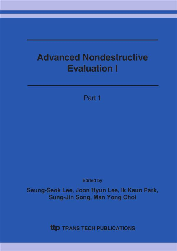 Advanced Nondestructive Evaluation I
