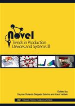 Novel Trends in Production Devices and Systems III