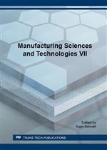 Manufacturing Sciences and Technologies VII