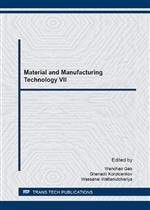Material and Manufacturing Technology VII