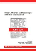 Binders, Materials and Technologies in Modern Construction II
