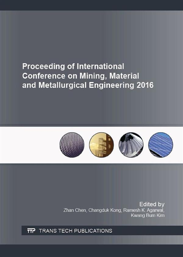 Proceeding of International Conference on Mining, Material and Metallurgical Engineering 2016