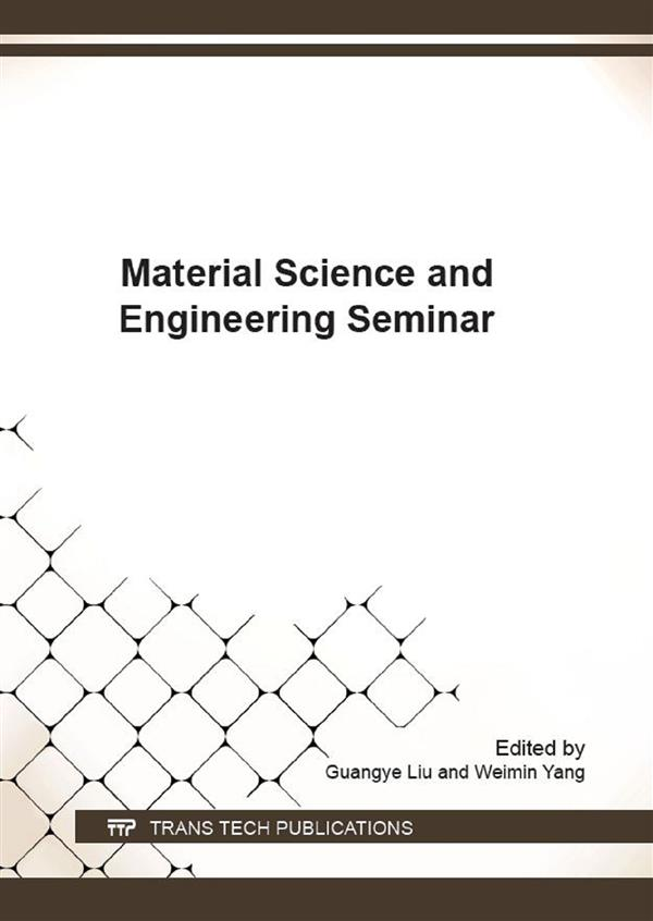 Material Science and Engineering Seminar