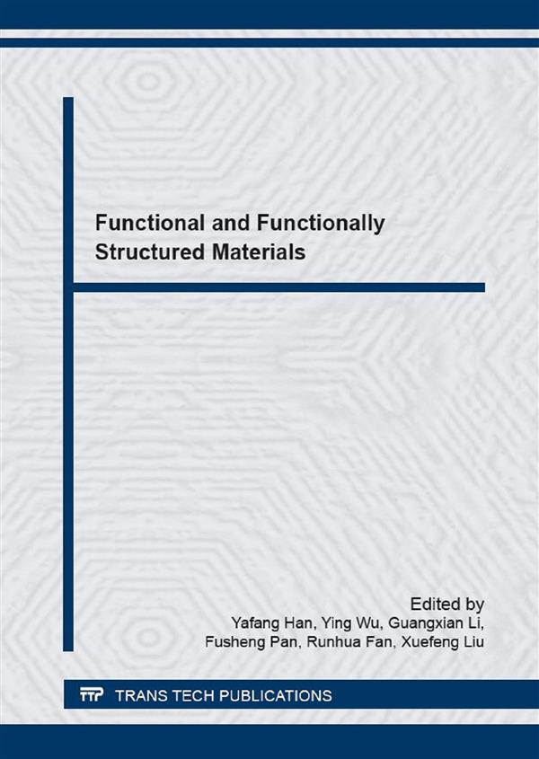 Functional and Functionally Structured Materials