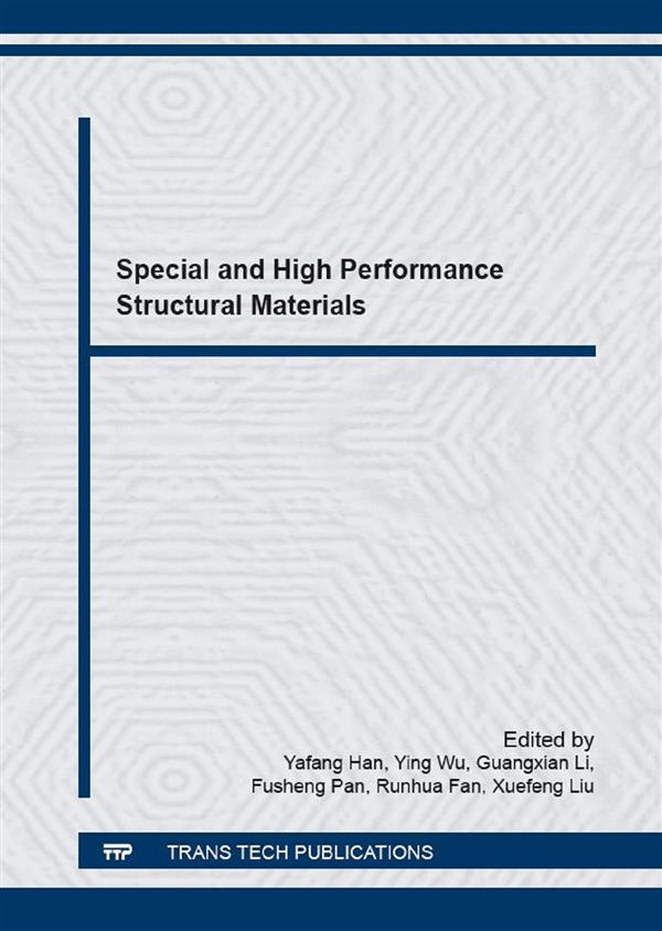 Special and High Performance Structural Materials