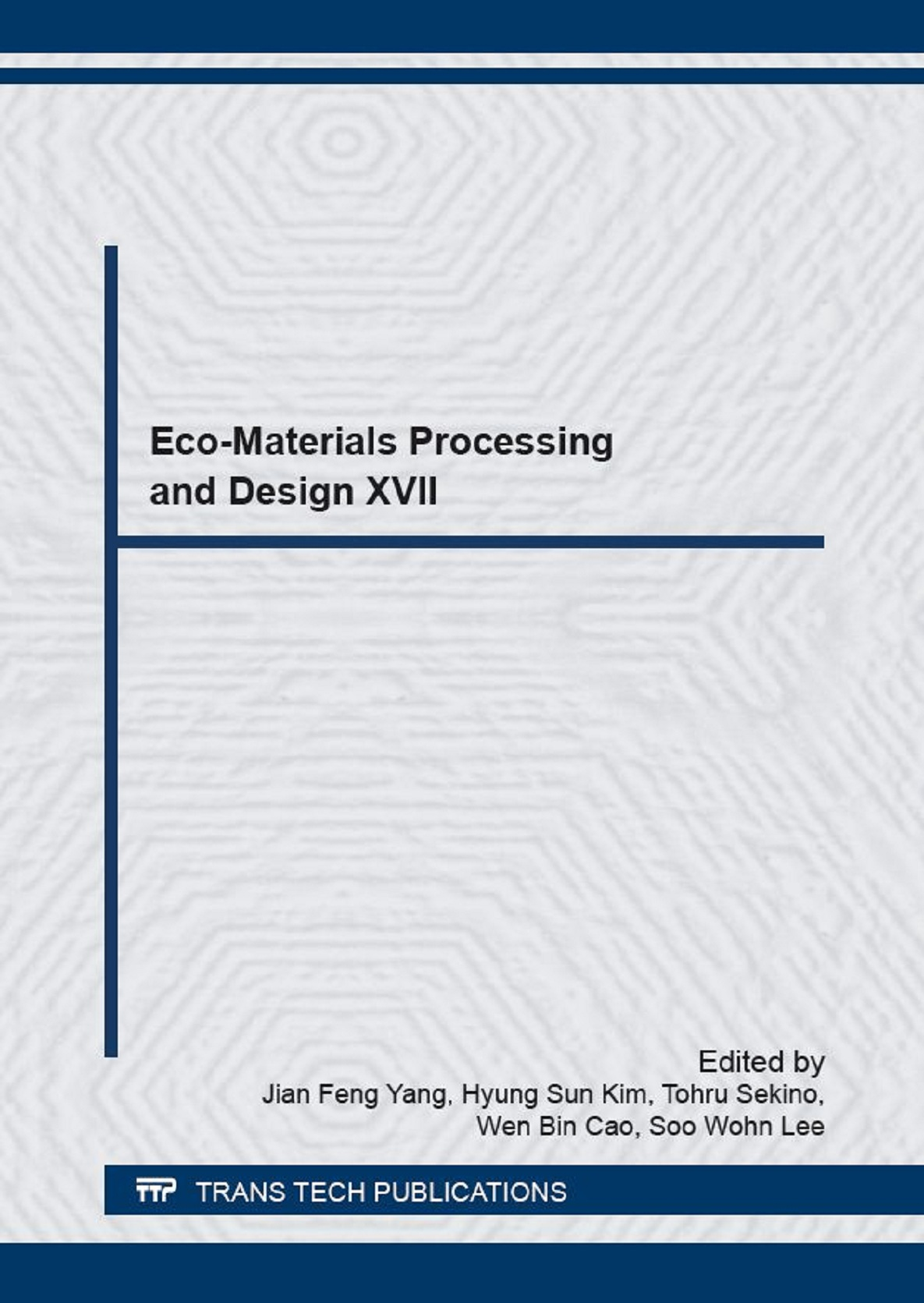 Eco-Materials Processing and Design XVII