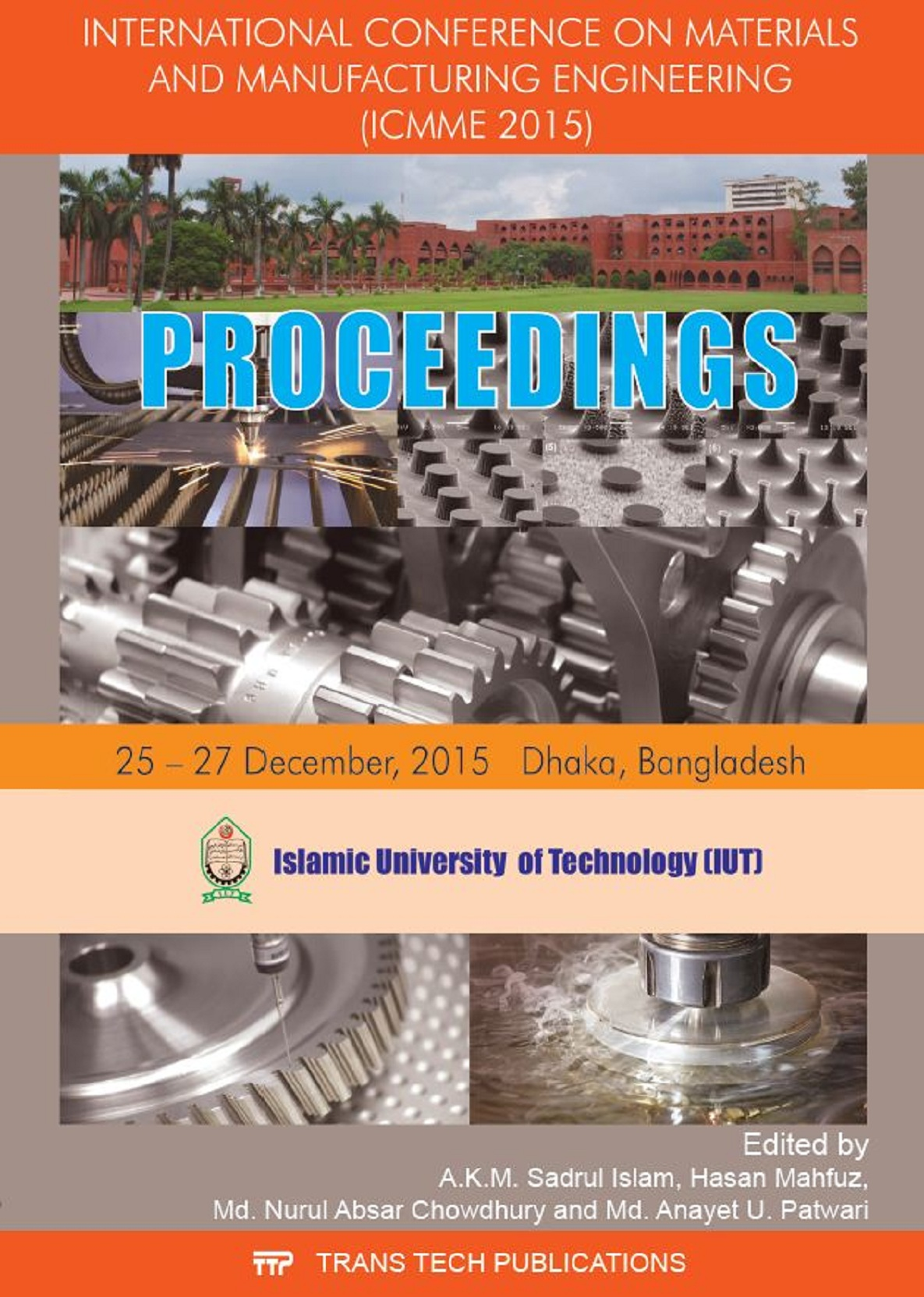 International Conference on Materials and Manufacturing Engineering