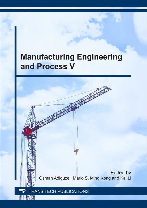 Manufacturing Engineering and Process V