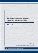 Advanced Functional Materials: Properties and Applications, Vol. II