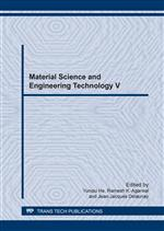 Material Science and Engineering Technology V