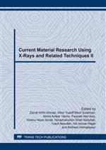 Current Material Research Using X-Rays and Related Techniques II
