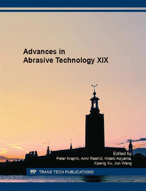 Advances in Abrasive Technology XIX